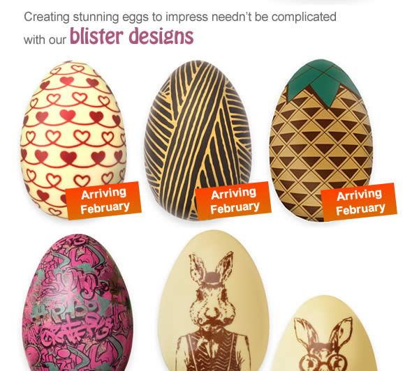 Creating stunning eggs to impress needn't be complicated with our blister designs