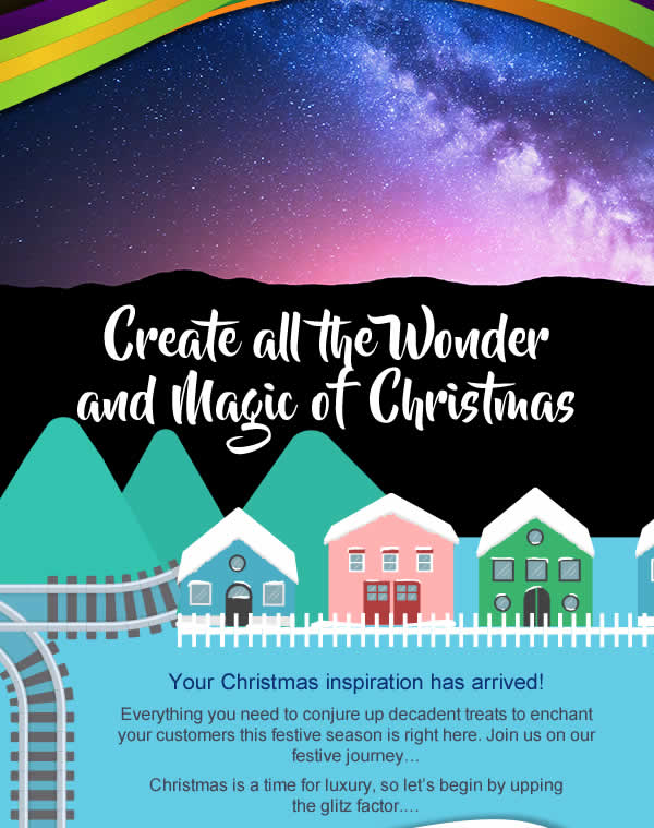 Create all the Wonder and Magic of Christmas