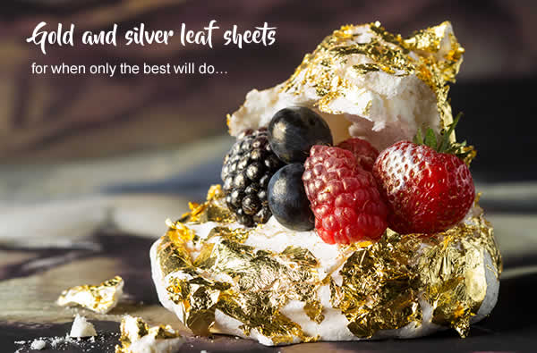 Gold and silver leaf sheets for when only the best will do…