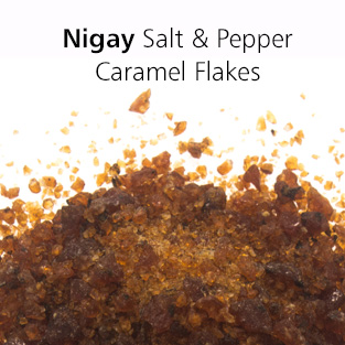 Nigay salt and pepper caramel flakes from Keylink